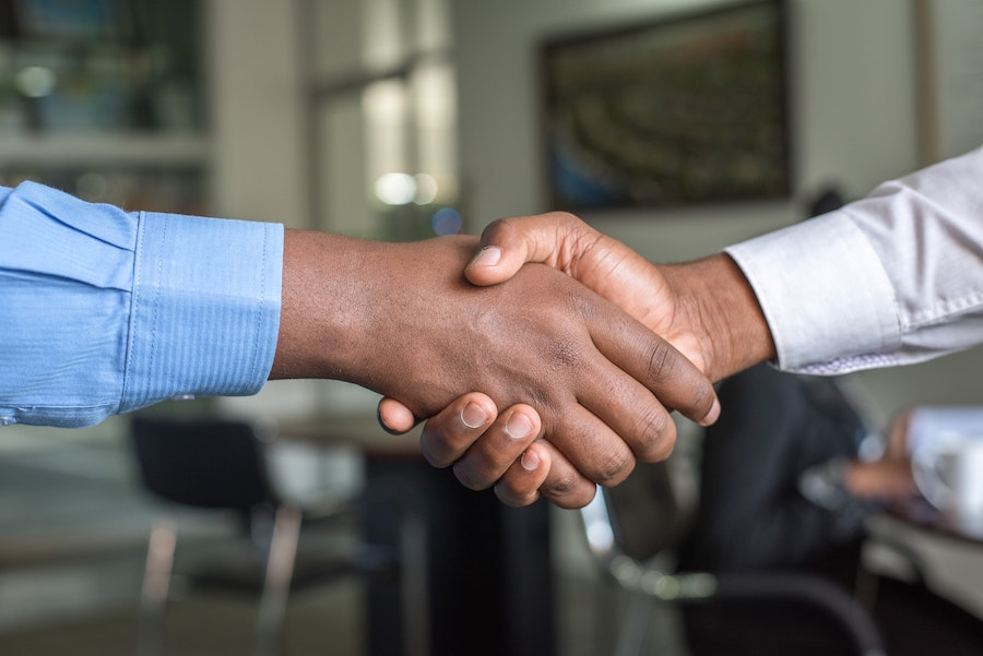 Handshake, and other real estate terminology